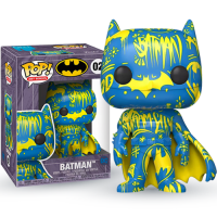 Funko POP! Heroes: DC - Batman Blue and Yellow (Artist Series) (Special Edition)