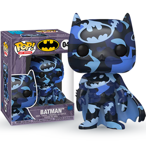 Funko POP! Heroes: DC - Batman Dark Blue with Case (Artist Series)(Special Edition)
