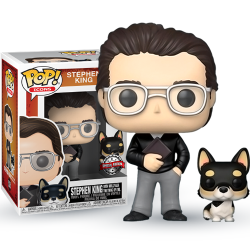 Funko POP! Stephen King with Molly AKA The Thing Of Evil