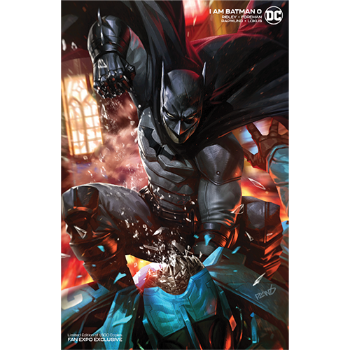 I Am Batman #0 Limited Foil Cover Variant Edition (Ltd 1500)