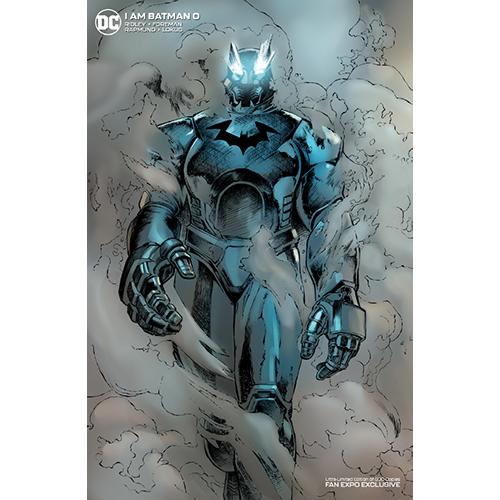 I Am Batman #0 Limited Foil Cover Variant Edition (Ltd 500)