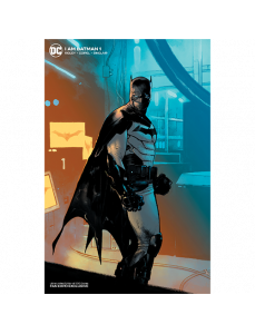 I Am Batman #1 Limited Foil Cover Variant Edition (Ltd 500)