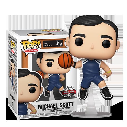 FUNKO POP! The Office - Basketball Michael Scott