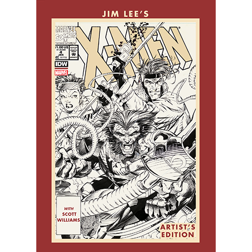 Jim Lee's X-Men Artist's Edition HC (Numbered edition of 125)