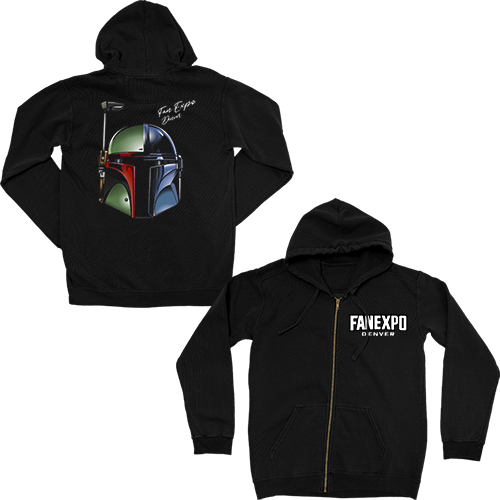 Fan Expo Denver Zip Hoodie - May The 4th Be With You