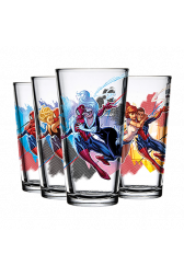 Spider-Man Toon Tumbler Full Set of 4