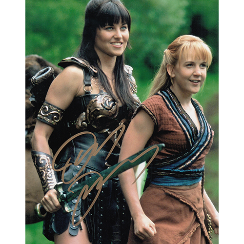 """Lucy Lawless Autographed 8""""x10"""" (Xena, Warrior Princess)"""