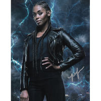 "Nafessa Williams Autographed 8""x10"" (Black Lightning)"