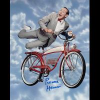 """Paul Reubens Autographed 8""""x10"""" (Pee Wee Herman)"""