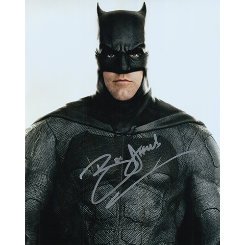 """Ben Affleck Autographed 8""""x10"""" (Justice League)"""