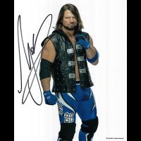 """AJ Styles Autographed 8""""x10"""" (WWE)"""