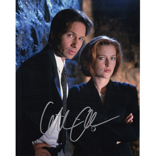 """Gillian Anderson Autographed 8""""x10"""" (X-Files)"""