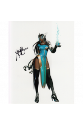"Anjali Bhimani Autographed 8""x10"" (Overwatch)"