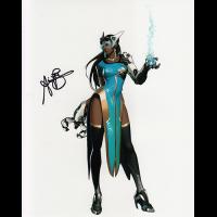 "Anjali Bhimani Autographed 8""x10"" (Overwatch)"