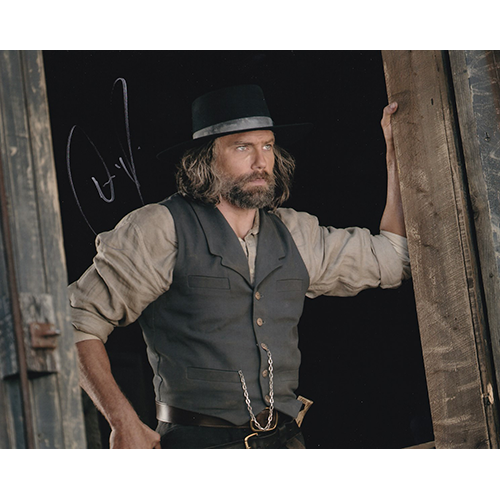 """Anson Mount Autographed 8""""x10"""" (Hell On Wheels)"""