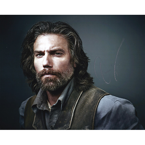 "Anson Mount Autographed 8""x10"" (Hell On Wheels)"