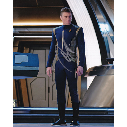 """Anson Mount Autographed 8""""x10"""" (Star Trek Discovery)"""