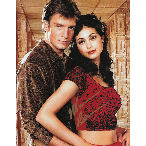 """Morena Baccarin Autographed 8""""x10"""" (Firefly)"""