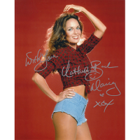 """Catherine Bach Autographed 8""""x10"""" (Dukes of Hazzard)"""