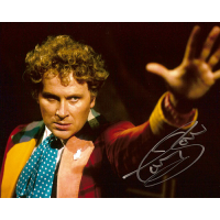 """Colin Baker Autographed 8""""x10"""" Photo (Doctor Who hand)"""