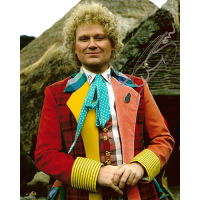 "Colin Baker Autographed 8""x10"" Photo (Doctor Who Portrait)"