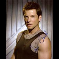 "Jamie Bamber Autographed 8""x10"" (Battlestar Galactica 1)"