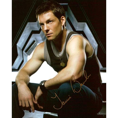 "Jamie Bamber Autographed 8""x10"" (Battlestar Galactica 2)"