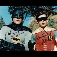 "Adam West & Burt Ward Autographed 8""x10"" (Batman)"