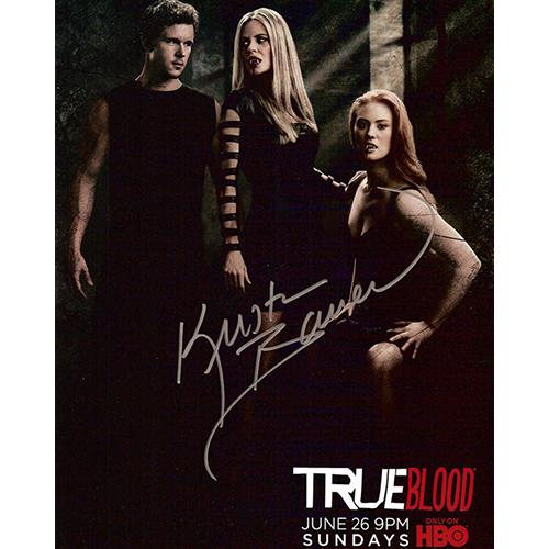 """Kristin Bauer Autographed 8""""x10"""" (True Blood 2)"""