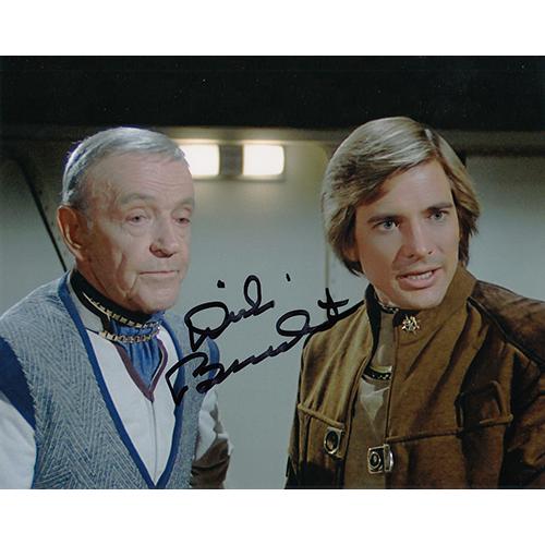 """Dirk Benedict Autographed 8""""x10"""" (Battlestar Galactica)"""