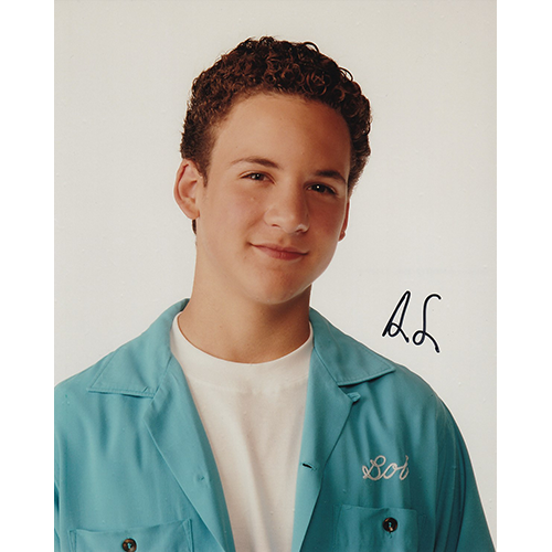 "Ben Savage Autographed 8""x10"" (Boy Meets World)"