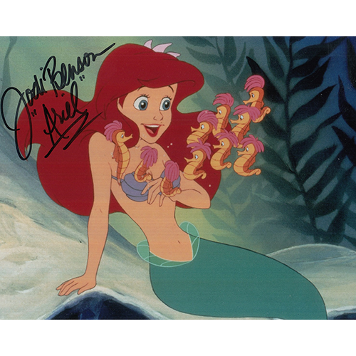 "Jodi Benson Autographed 8""x10"" (The Little Mermaid)"