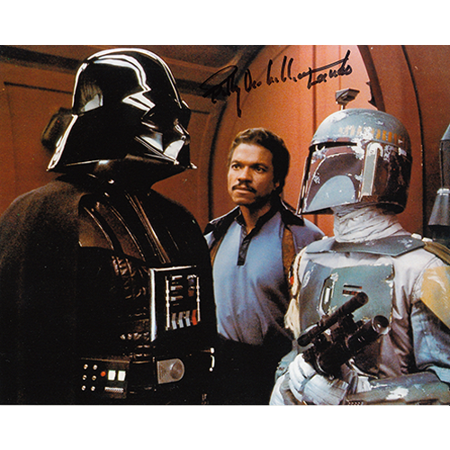 "Billy Dee Williams Autographed 8""x10"" (Star Wars)"