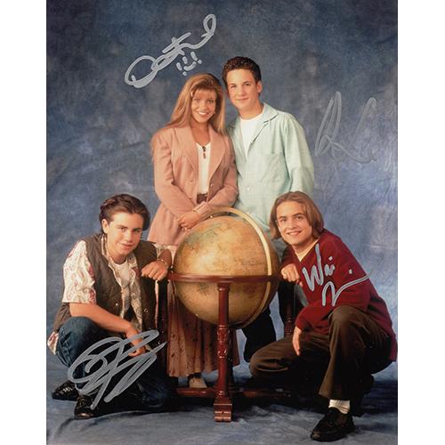 "Boy Meets World Cast Autographed 8""x10"" (Boy Meets World)"