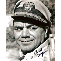 """Ernest Borgnine Autographed 8""""x10"""" (McHale's Navy 1)"""