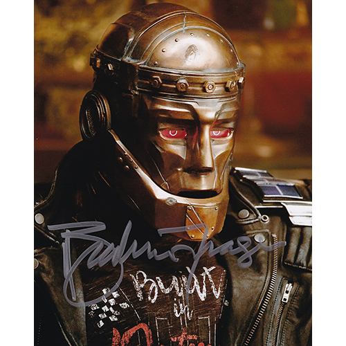 "Brendan Fraser Autographed 8""x10"" (Doom Patrol)"