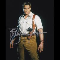"Brendan Fraser Autographed 8""x10"" (The Mummy)"