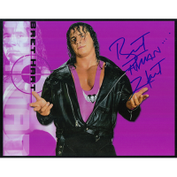 "Bret Hart Autographed 8""x10"" (WWE)"