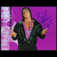 "Bret Hart Autographed 8""x10"" (WWE)"