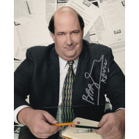 """Brian Baumgartner Autographed 8""""x10"""" (The Office)"""