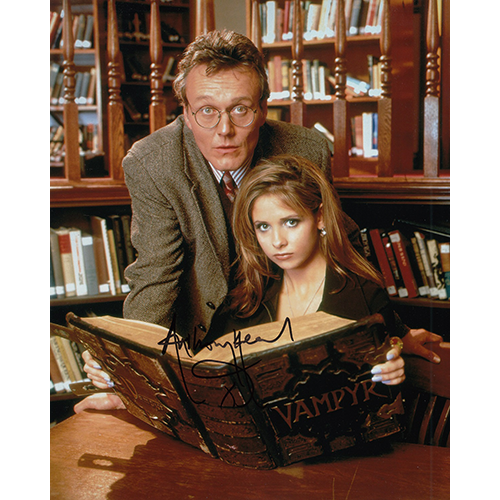 """Anthony Head Autographed 8""""x10"""" (Buffy The Vampire Slayer)"""