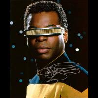 "Levar Burton Autographed 8""x10"" (Star Trek: The Next Generation 2)"