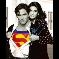 "Dean Cain Autographed 8""x10"" (Lois & Clark: Superman with Lois)"