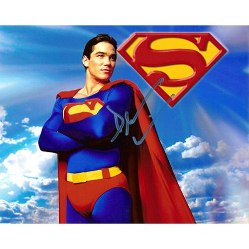 """Dean Cain Autographed 8""""x10"""" (Lois & Clark: Superman Landscape)"""