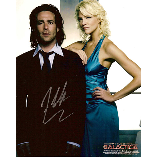 "James Callis Autographed 8""x10"" (Battlestar Galactica 1)"