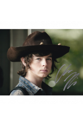 "Chandler Riggs Autographed 8""x10"" (The Walking Dead)"