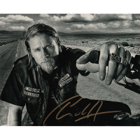 """Charlie Hunnam Autographed 8""""x10"""" (Sons of Anarchy)"""
