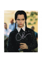 "Christina Ricci Autographed 8""x10"" (The Addams Family)"