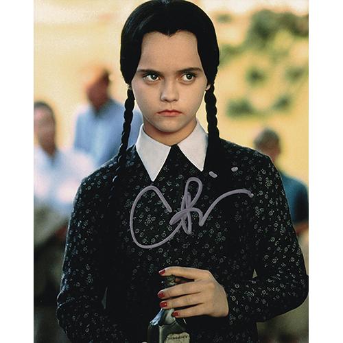 "Christina Ricci Autographed 8""x10"" (The Addams Family)"
