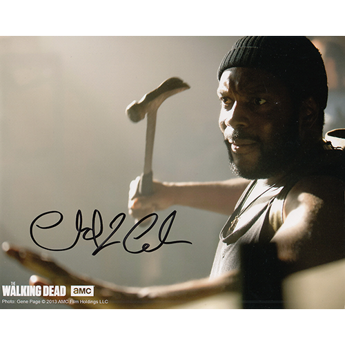 """Chad Coleman Autographed 8""""x10"""" (Walking Dead)"""